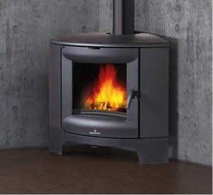 מרענן קמין עץ פינתי - חסכוני במקום ומחמם את הבית | רוקח תנורי חימום VJ-25